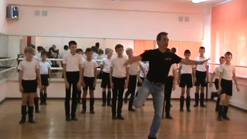 Алексеев Юрий Михайлович Основные элементы мужского народного танца