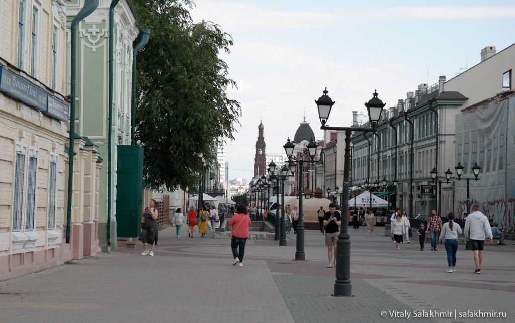 Арбат Казани – улица Баумана