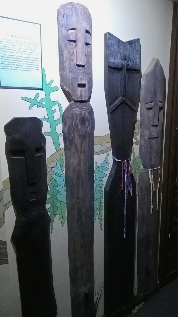 древние идолы манси в Верхотурском музее