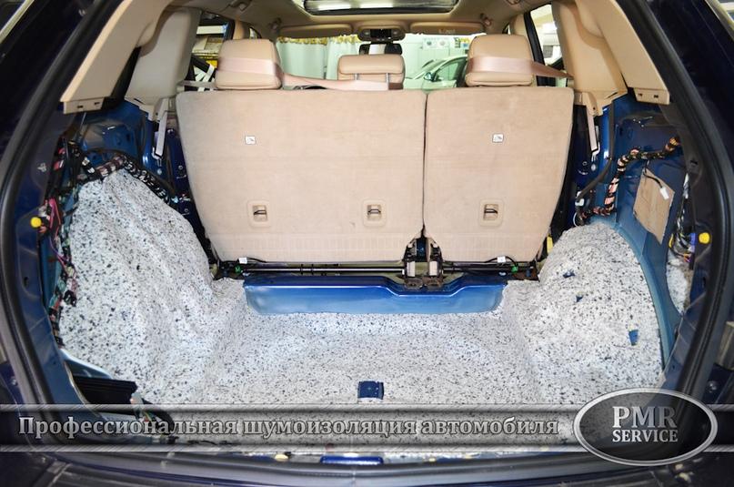 Шумоизоляция Jeep Grand Cherokee, изображение №13