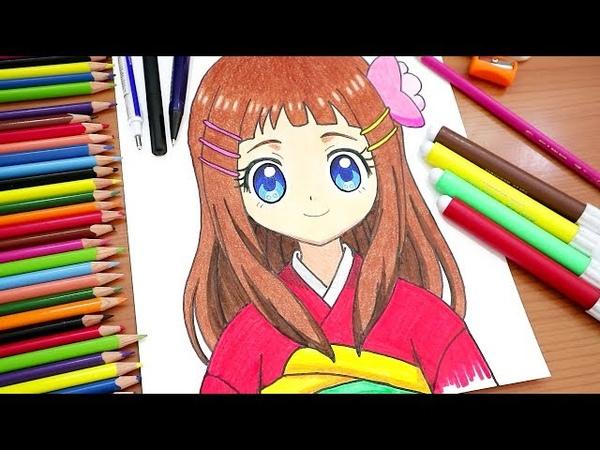 رسم هناء من انمي كوكوتاما Cocotama