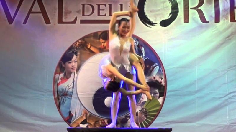 Mongolian new Circus Center Double contortion