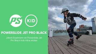 Powerslide Jet Pro Black kids inline skates