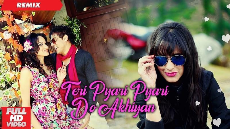 Teri Pyari Pyari Do Akhiyan | Official Remix | Funky Boyz | Bhinda Aujla Bobby Layal |