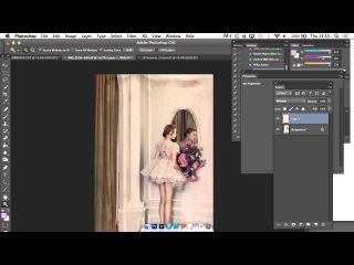 Lara Jade: How to Apply Textures to Fine Art Portaits in Photoshop \\х