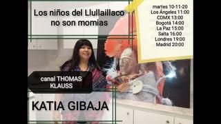 Los niños incas de Llullaillaco no son momias // Lic. Katia Gibaja