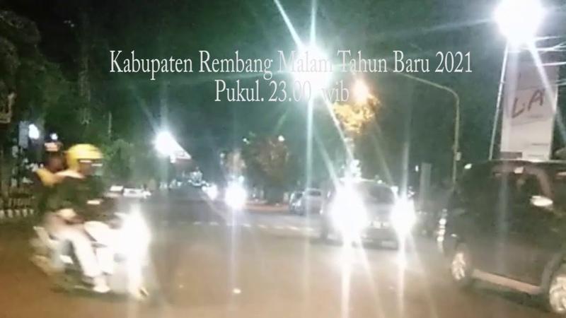 Kab Rembang Mutus tali rantai penyebaran Covid malam Tahun Baru 2021