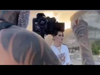 Андрей Петров снимает клип