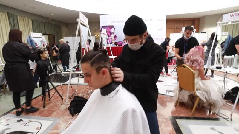 XXVI Чемпионат России по парикмахерскому искусству Антон Довгань
