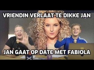 Jan Roos op date met Fabiola & Dennis krijgt aanbod van nieuwe omroep - YouTube