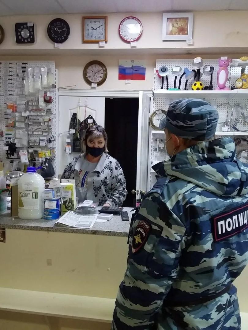 В Петровске продолжаются контрольные рейды по соблюдению противоэпидемических требований в общественных местах