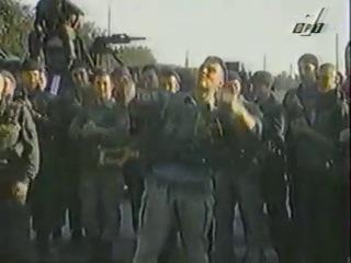 Русский спецназ танцует и поёт. Чечня. 1995