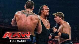 FULL MATCH - Cena, Triple H, Kane & Undertaker vs. Edge, Orton, JBL & Chavo: Raw, Apr. 21, 2008