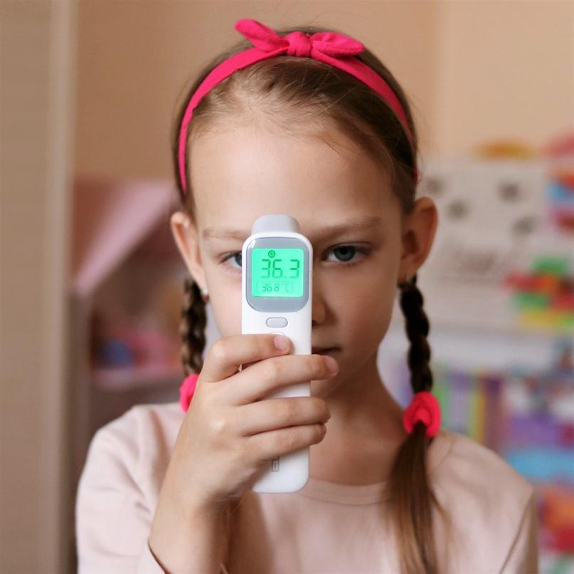 Сегодня покажу инфракрасный термометр из магазина ELERA Baby Thermometer Official Store.