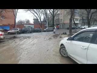Грязь и срач на улице Дачной  Нетипичный Ростов-на-Дону