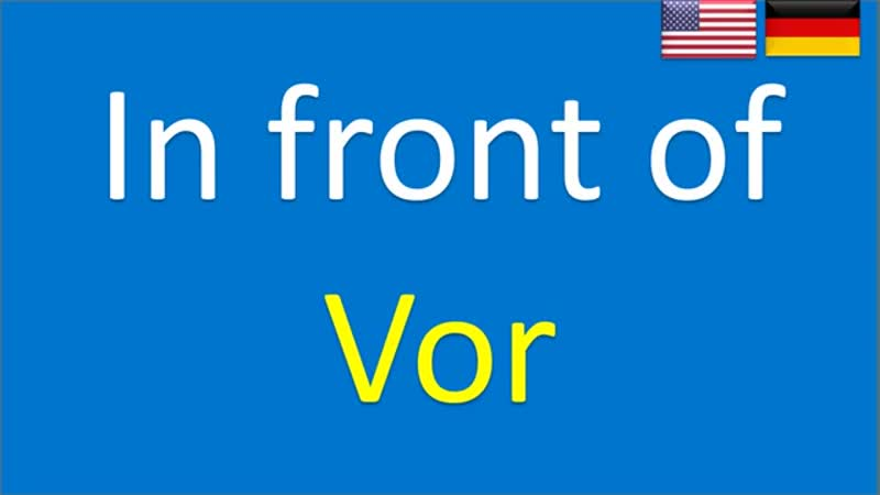 500 basic words in German. English - German lesson for beginners. Englisches Vokabular