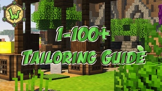 1 - 100+ Tailoring | Crafting Ingredient Guide | Wynncraft | Profession Guide