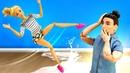 Видео КУКЛЫ! —Барби ушибла ногу, акукла доктор— руку! —Кен помогает куклам— Видео для девочек