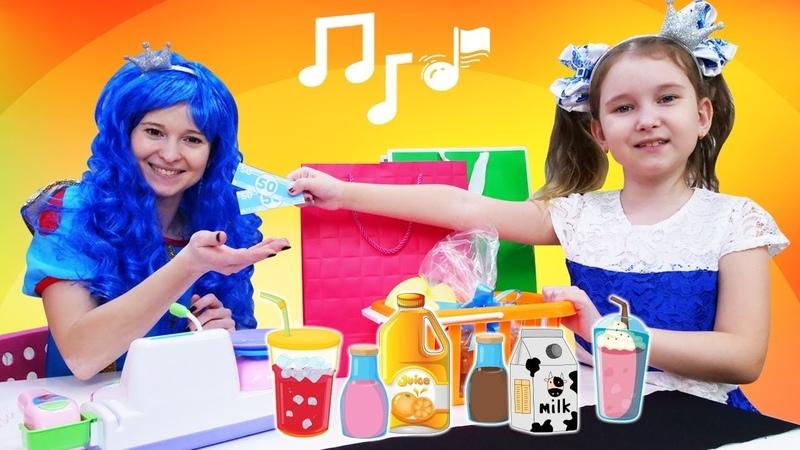 Video e giochi per bambini. Le principesse cantano una canzone. Canzoni in italiano