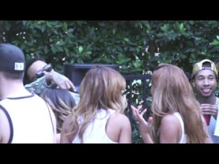 Chris Brown | Welcome Home Party | Studio footage with Tyga