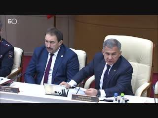 Президент Татарстана миниханов продвигает отмену 50% скмдки на штрафы