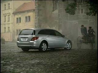Mercedes Benz R-class Commercial