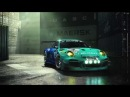 Falken Tyre - Photoshooting Porsche 911 GT3R