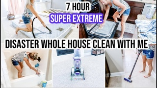 *HUGE* EXTREME WHOLE HOUSE CLEAN WITH ME 2020 | ALL DAY SPEED CLEANING MOTIVATION | CLEANING ROUTINE