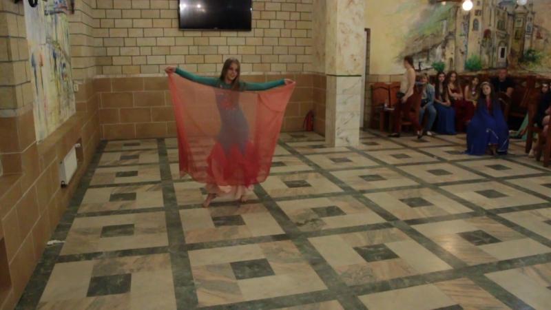 Конкурс Арабского танца Восточная Краса . Мунтяну Ангелина. Классика