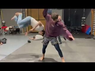 Джан Яман боевая тренировка
