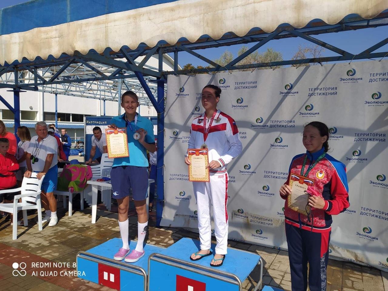 Спортсмены Донецка – победители и призёры соревнований по плаванию в Крыму
