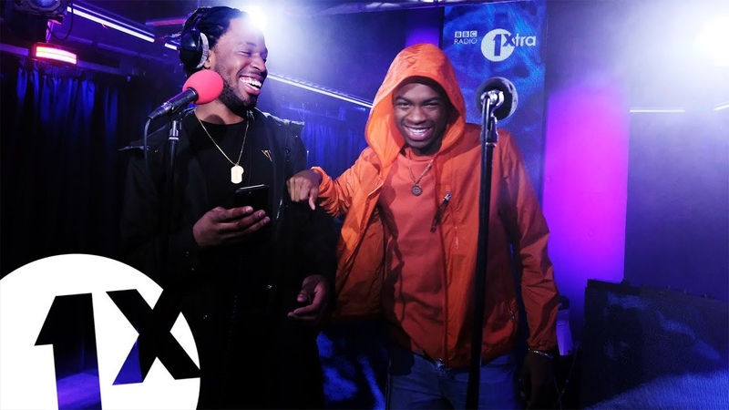 Avelino feat Not3s Boasy in the BBC 1Xtra Live Lounge