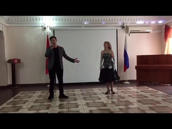 Con Te Partirò Ольга Гринштейн Алексей Квасов