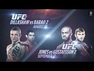 UFC 177 & 178: Two Epic Rematches