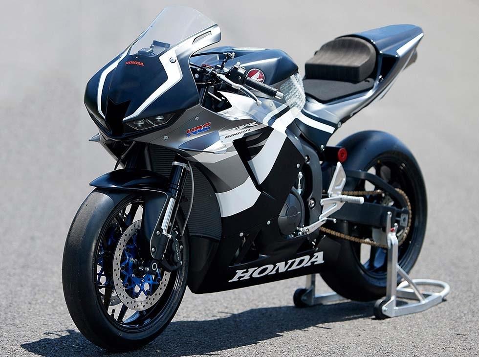 HRC выпустили гоночную версию нового Honda CBR600RR