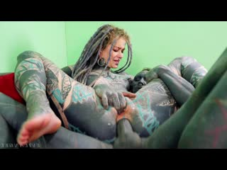 Anuskatzz, Lily Lu - Tattooed Artists Fuck [Gonzo Hardcore All Sex Ana]