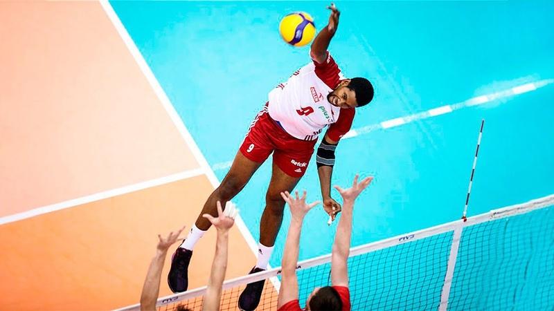 Volleyball Superman Wilfredo Leon