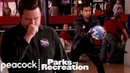 Tom Schools Ron At Bowling - Parks and Recreation