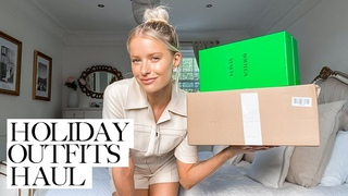 HOLIDAY OUTFITS HAUL AND A NEW DIOR BAG   INTHEFROW