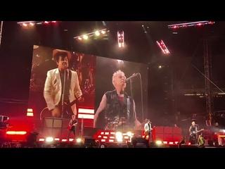 "7/24/21 - Hella Mega Tour - Opening song - Green Day ""American Idiot"""