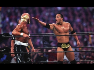 The Rock vs Hulk Hogan - Wrestlemania Х8