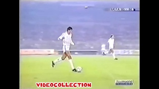 1985/86  Real Madrid - Chornomorets Odesa   2-1 (UEFA Cup 1/16 fin)