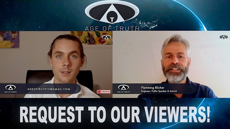 REQUEST TO ALL AGE OF TRUTHERS Face Masks Activism ~ feat FLEMMING BLICHER Age Of Truth TV