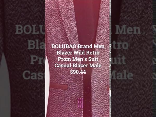 BOLUBAO Brand Men Blazer Wild Retro Prom Men's Suit Casual Blazer Male 9 13 2020 21 22