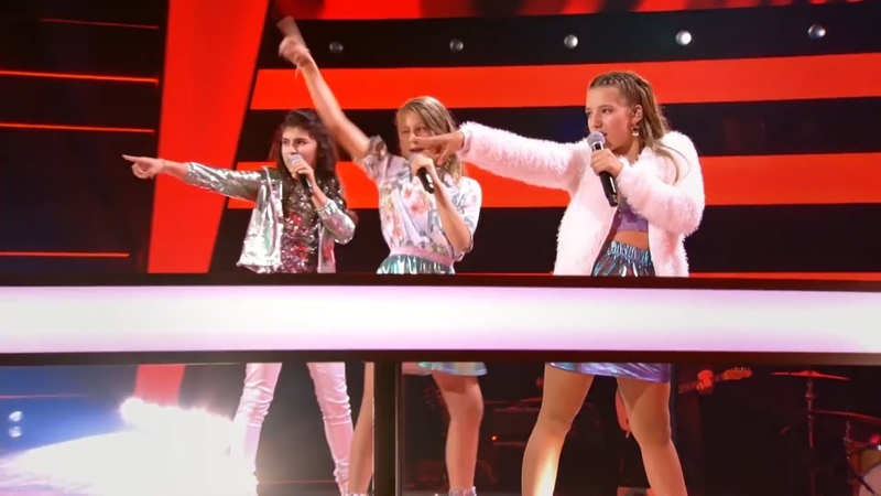 Helena Axelle Mary Born This Way Battles The Voice Kids VTM