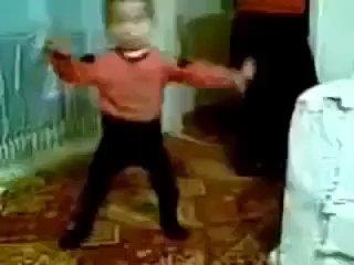 малышка-великий танцор...