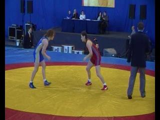 Ганбарова-Липатова,63кг,1сет,начало 2-го,борьба за выход в финал