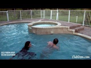 Goddess Nyx and Goddess Brianna - pool beat