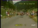 "INA TDF 1985 Stage 11 Pontarlier Morzine Avoriaz 195 Km 09 jul Luis ""Lucho"" Herrera"