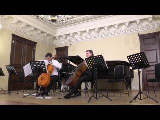 С.И.Танеев Канцона для виолончели и фортепиано